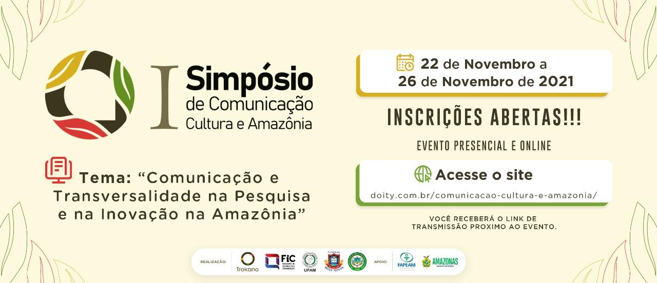 Grupo Trokano da Ufam realiza evento híbrido com foco em comunicação, cultura e Amazônia